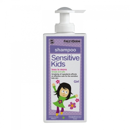 FREZYDERM SENSITIVE KIDS SHAMPOO 200ml,ΓΙΑ ΚΟΡΙΤΣΙΑ