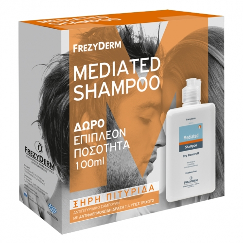 Frezyderm Hair Mediated Shampoo Dry Dandruff 200ml + 100ml