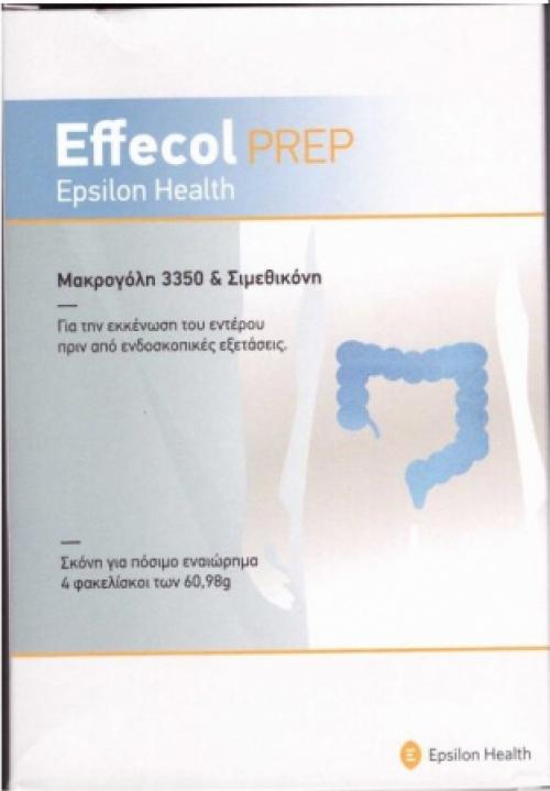 Effecol Prep 4 φακελίσκοι των 60,98g