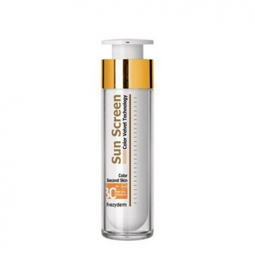 SUN SCREEN  COLOR VELVET FACE SPF 30,50ml