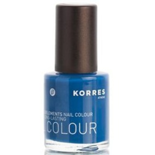 Korres Nail Color 87 Ocean Blue 10ml