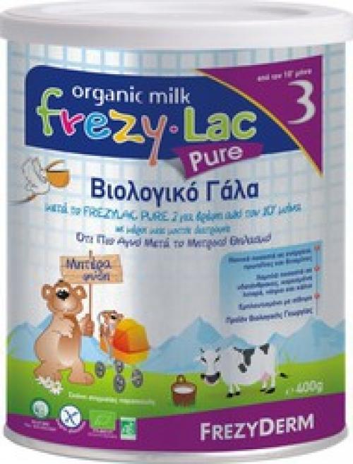 FREZYDERM Frezylac Pure No3 Βιολογικό Γάλα 400gr