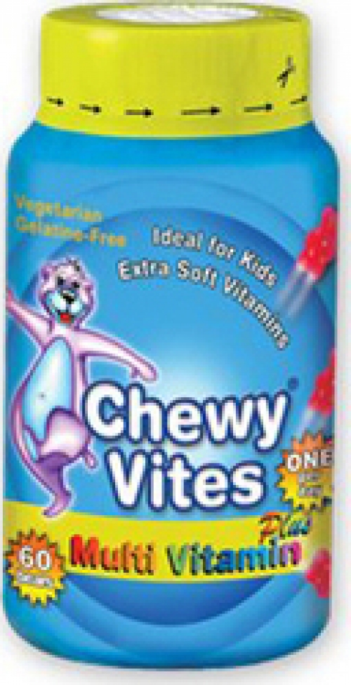 Vican Chewy Vites Jelly Bears Multivitamin Plus, 60 μασώμενα ζελεδάκια