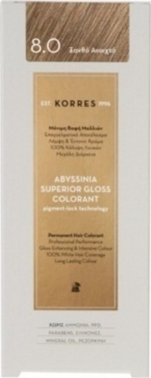 Abyssinia Superior Gloss Colorant 8.0 Ξανθό Ανοιχτό