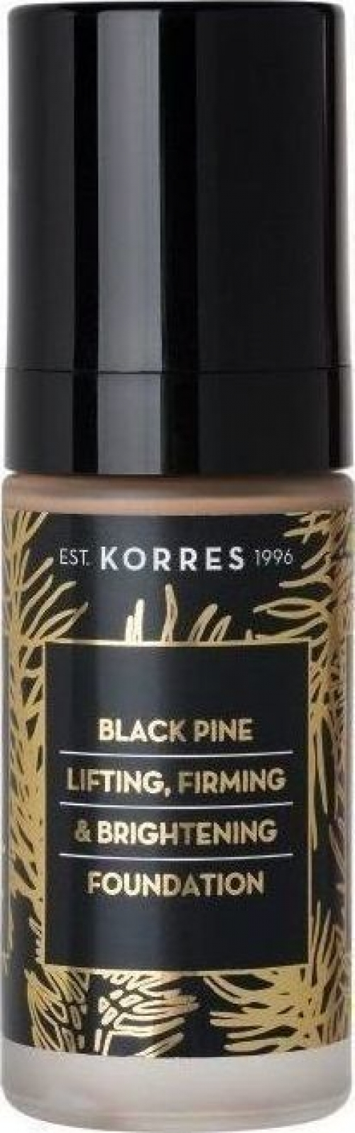 Μαύρη Πεύκη Υγρό make- up Black Pine Lifting, Firming & Brightening Foundation BPF1 30ml
