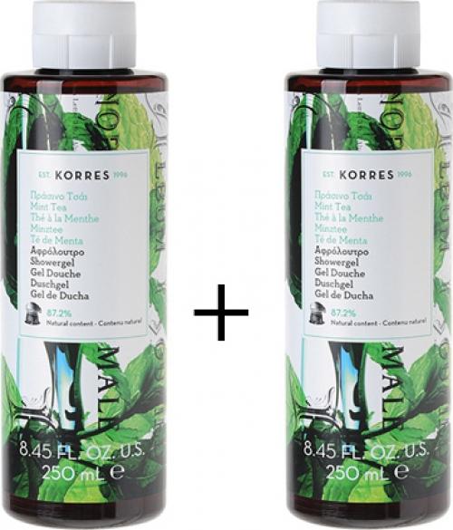 Αφρόλουτρο Πράσινο Τσάι 250ml, 1+1 ΔΩΡΟ