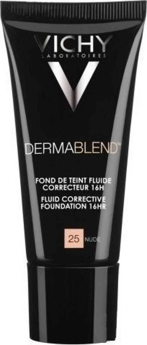 VICHY Dermablend Fond de Teint Corrective 16h Καλυπτικό Ματ Make-Up 30ml - 25 Nude
