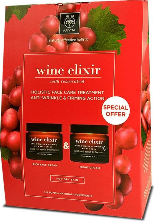 Wine Elixir Rich Face Cream & Wine Elixir Night Cream