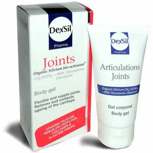 Dexsil Joints MSM/GLUCOSAMINE/CHONDROITIN (Gel Σώματος) 50ml