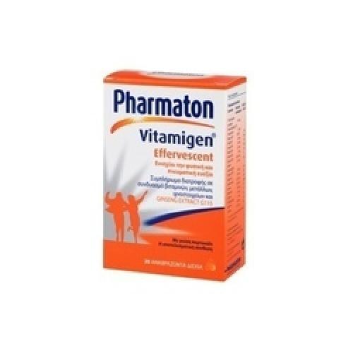 Pharmaton Vitamigen Effervescent 20 Αναβράζοντα Δισκία