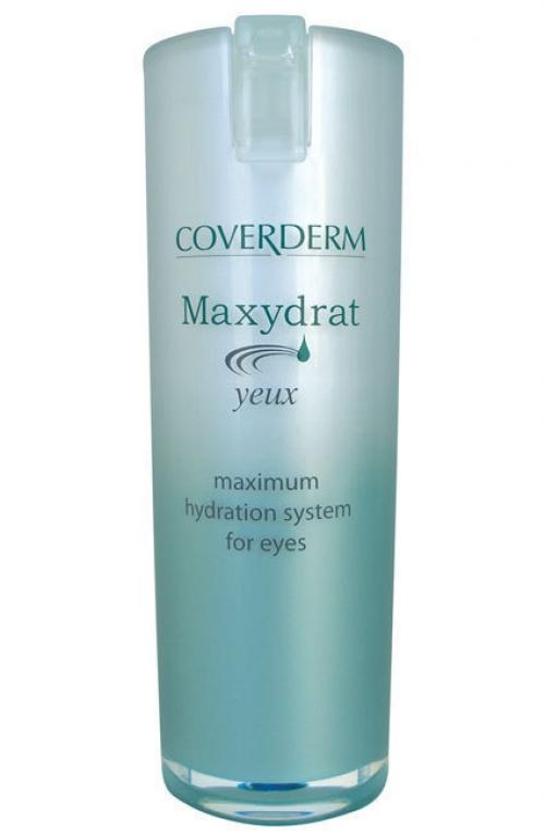 Maxydrat Yeux Ενυδατική Κρέμα - Τζελ για τα Μάτια 15ml. Αυξάνει τα επίπεδα ενυδάτωσης και αφήνει το δέρμα λαμπερό και απαλό στην ευαίσθητη περιοχή γύρω από τα