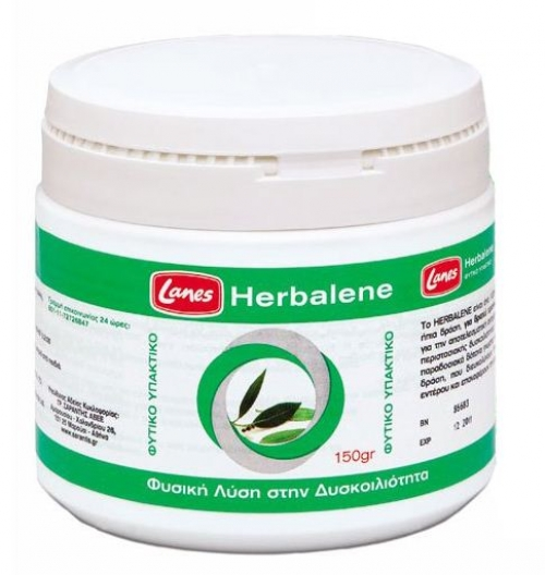 HERBALENE Φυτικό υπακτικό -φαρμακευτικό προϊόν φυτικής προέλευσης παραδοσιακής χρήσης.150gr