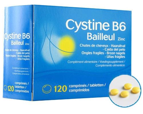 Cystiphane Cystine B6 Zinc 120tablets