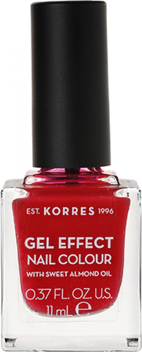 Gel Effect Nail Colour 51 Rosy Red 11ml