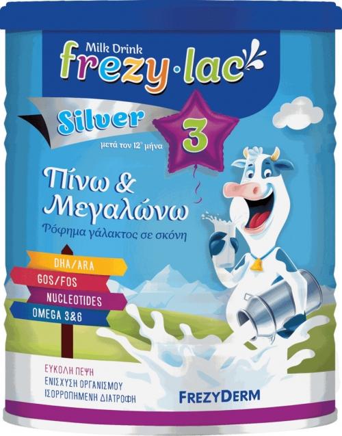 FREZYLAC SILVER 3 Ρόφημα Αγελαδινού Γάλακτος σε σκόνη από τον 12 μήνα, 400gr