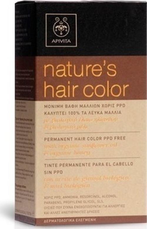 Nature's Hair Color N1.0 Μόνιμη βαφή μαλλιών Φυσικό Μαύρο 50ml