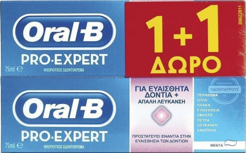 Oral-B Pro-Expert Sensitive & Whitening 2 x 75ml