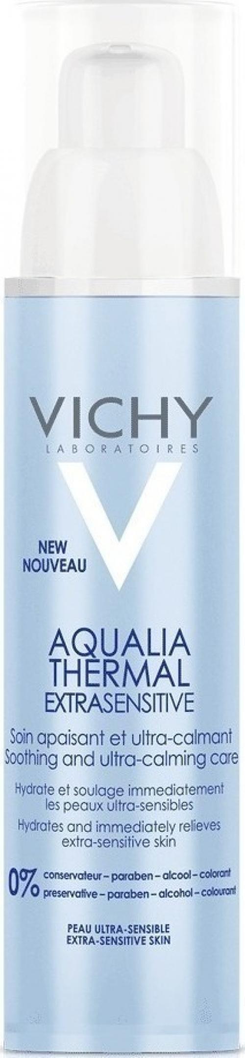 Vichy Aqualia Thermal Extrasensitive Ενυδατική Προσώπου για Ξηρές/Ευαίσθητες Επιδερμίδες 50ml