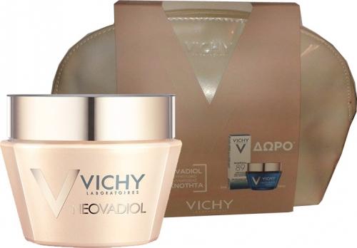 Vichy Neovadiol Compensating Complex για Κανονικές & Μικτές Επιδερμίδες & Vichy Mineral 89 Booster & Vichy Neovadiol Night