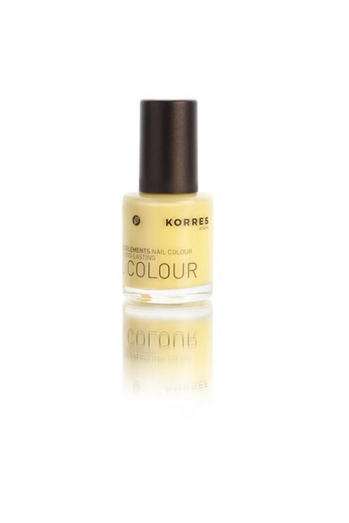 Korres Nail Color 91 Bright Yellow 10ml