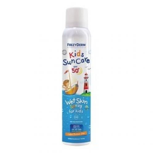 Kids Sun Care Παιδικό Αντιηλιακό SPF50+ Wet Skin Spray 200ml