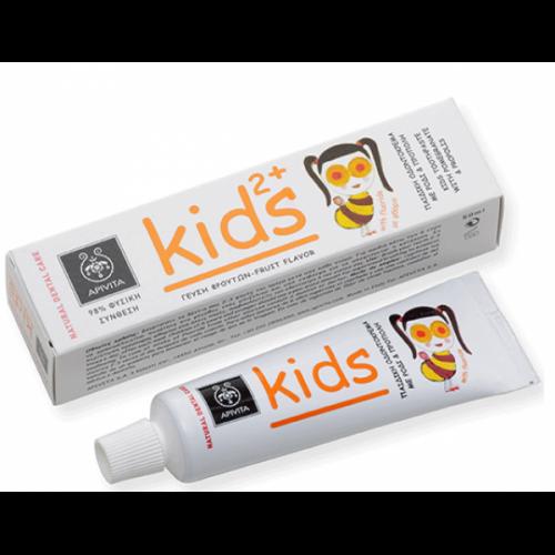 NATURAL DENTAL CARE  KIDS 2+ Παιδική Οδοντόκρεμα με ρόδι & πρόπολη 50ml