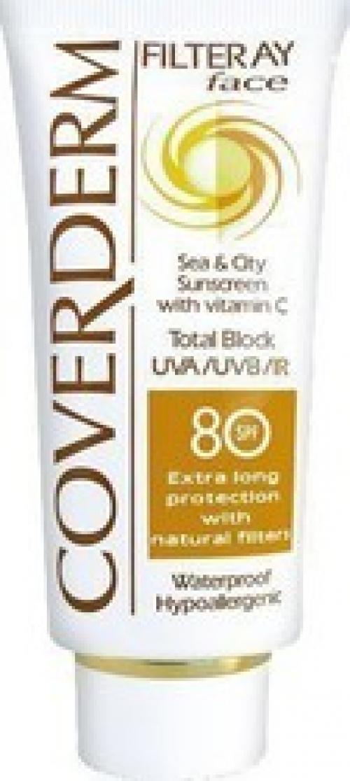 Coverderm Filteray Face Cream SPF80 50ml