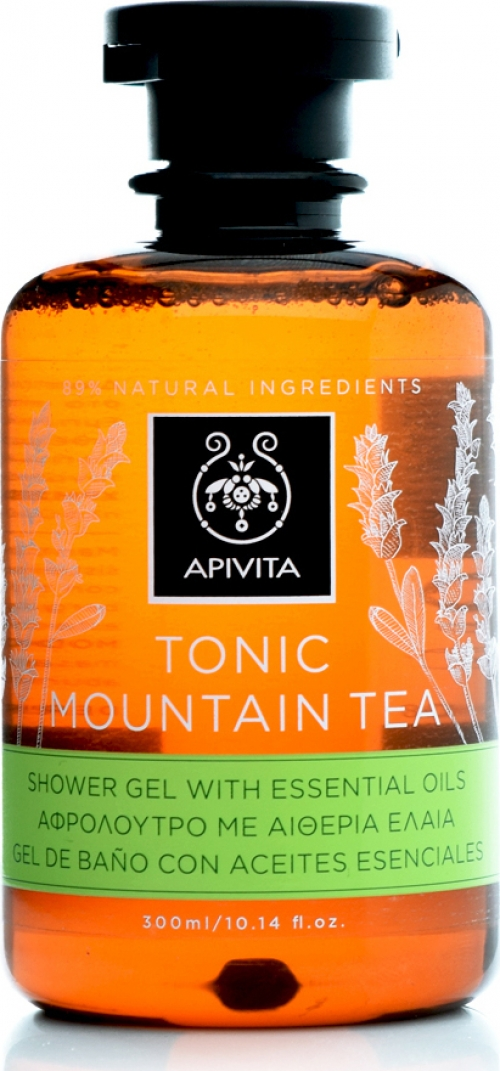 Tonic Mountain Tea Αφρόλουτρο με Αιθέρια Έλαια 300 ml