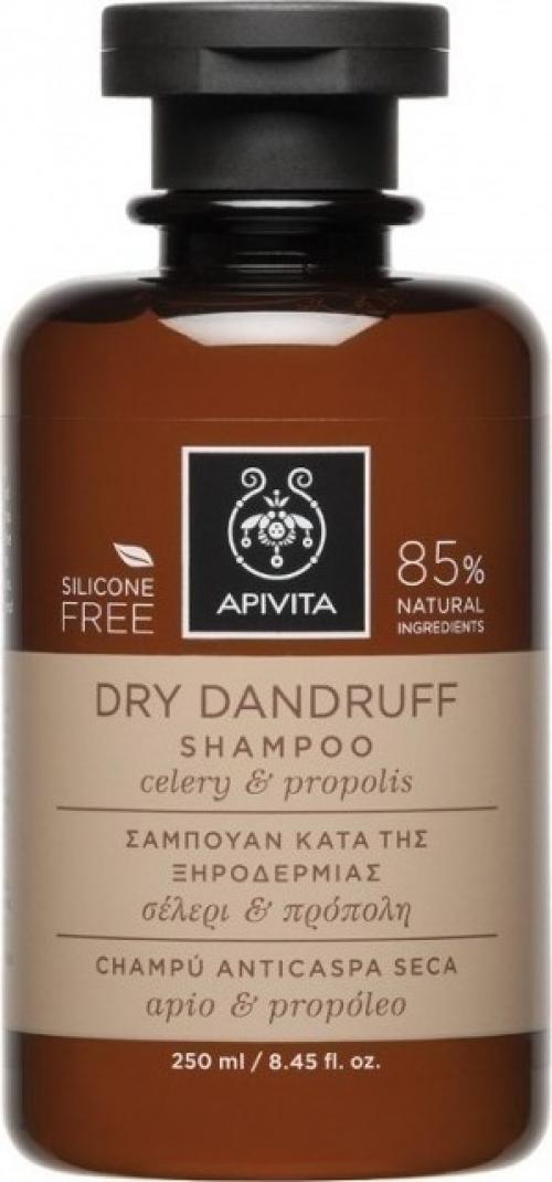 Apivita Dry Dandruff Σαμπουάν κατά της Ξηροδερμίας Με Σέλερι Και Πρόπολη 250ml
