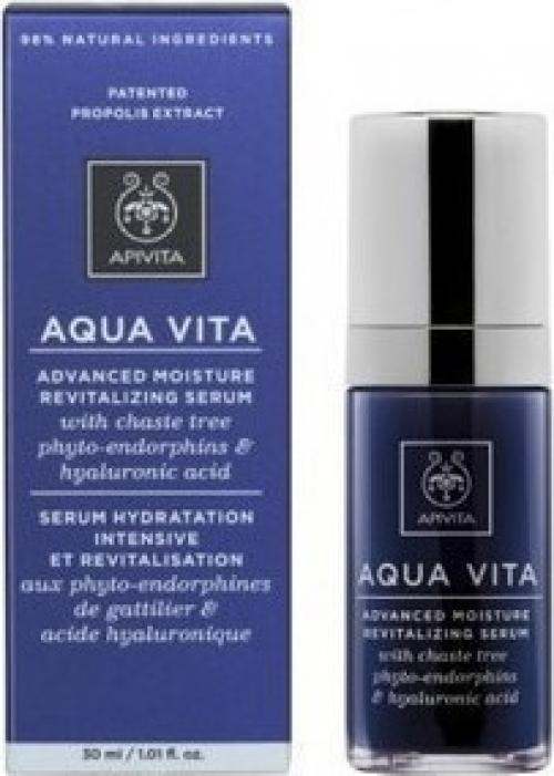 Aqua Vita Ορός Εντατικής Ενυδάτωσης & Αναζωογόνησης Με Φυτοενδορφίνες Λυγαριάς & Υαλουρονικό Οξύ 30ml