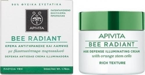 Bee Radiant Κρέμα Αντιγήρανσης & Λάμψης Πλούσιας Υφής 50ml