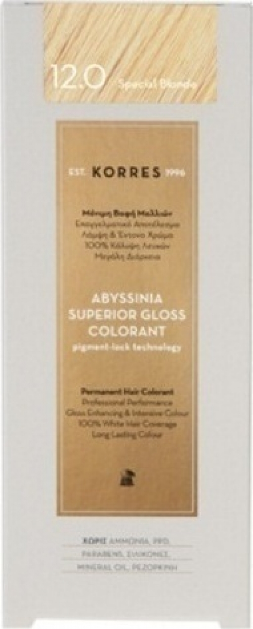 Abyssinia Superior Gloss Colorant 12.0 Special Blonde
