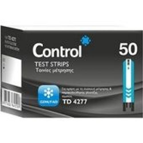 Ταινίες μέτρησης σακχάρου CONTROL BIOS 50strips