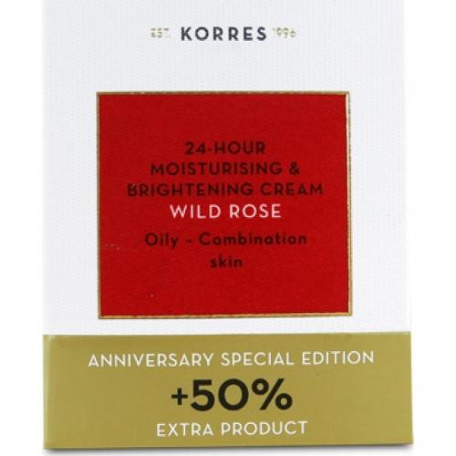 Άγριο Τριαντάφυλλο Κρέμα Λιπαρες-Μεικτες Επετειακή Ειδική Έκδοση+50% επιπλέον προϊόν, 60ml