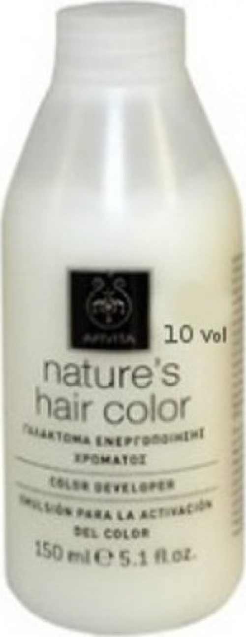 Apivita Nature's Hair Color 10 Volume Professional Γαλάκτωμα Ενεργοποίησης Χρώματος 150ml