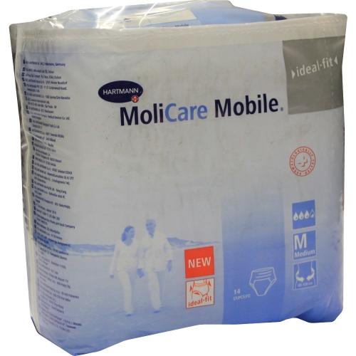 Hartmann MoliCare Mobile - Medium,14 τμχ : Σλιπ ακράτειας για μέτρια έως σοβαρή ακράτεια ούρων ή / και κοπράνων.