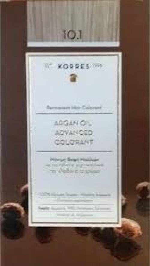Argan Oil Advanced Colorant 10.1 Ξανθό Πλατίνας Σαντρέ