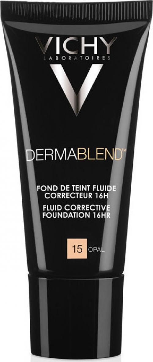 VICHY Dermablend Fluide Διορθωτικό make-up με εύπλαστη υφή SPF35 30ml - 15 OPAL