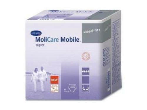 MoliCare Mobile super Medium,14 τμχ : Πάνες για βαριά και οξύτατη ακράτεια ούρων ή / και κοπράνων.