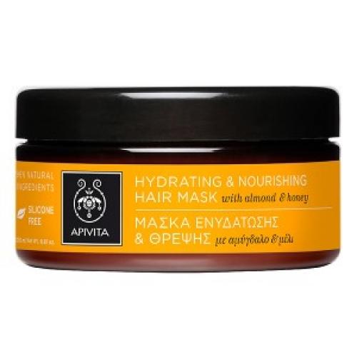 Μάσκα Ενυδάτωσης και Θρέψης με αμύγδαλο & μέλιΑνάγκες:Ξηρά-Αφυδατωμένα Μαλλιά,200ml