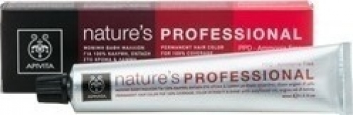 Apivita Βαφή Nature's Professional 5.77 ΚΑΣΤΑΝΟ ΑΝΟΙΧΤΟ ΜΠΕΖ 50ml Άμεσ