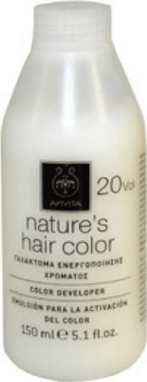 Apivita Nature's Hair Color Professional 20 Volume Γαλάκτωμα Ενεργοποίησης Χρώματος 150ml
