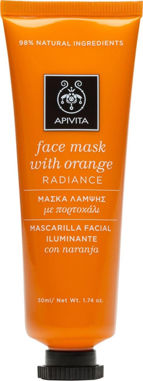 Apivita Μάσκα Λάμψης Με Πορτοκάλι 50ml