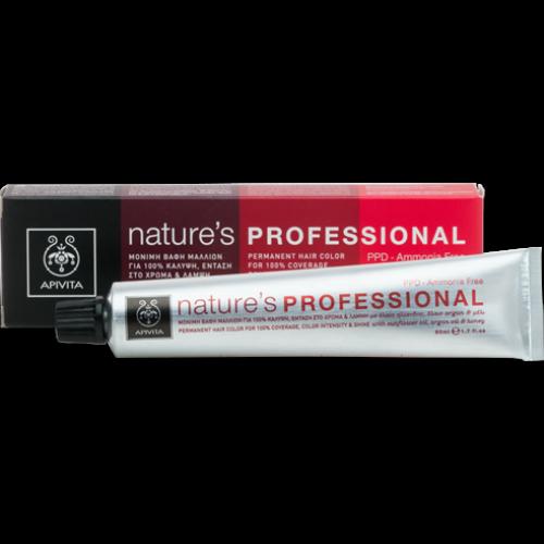 Apivita Nature's Professional 6.41 Ξανθό Σκούρο Χάλκινο Σαντρέ