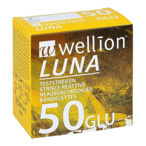 Wellion Luna GLU 50τμχ