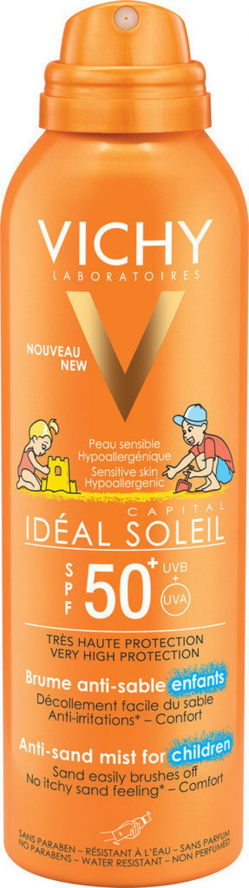 Vichy Capital Ideal Soleil Anti Sand Enfants SPF50 200ml