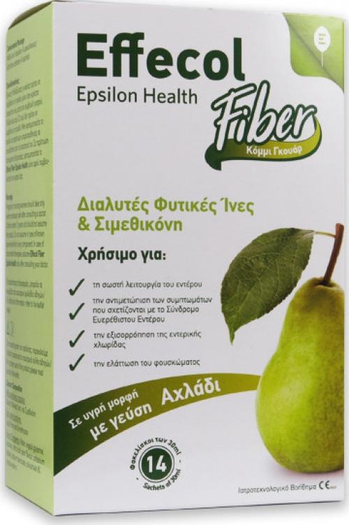 Effecol Fiber – Διαλυτές Φυτικές Ίνες & Σιμεθικόνη – Υγιή Χλωρίδα Εντέρου & Μείωση Εντερικών Αερίων, Φουσκώματος & Κοιλιακού Άλγους
