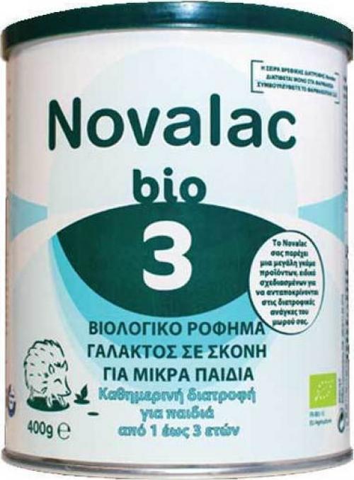 Bio 3 Βιολογικό Γάλα σε Σκόνη για Παιδιά από 1 έως 3 Ετών 400gr