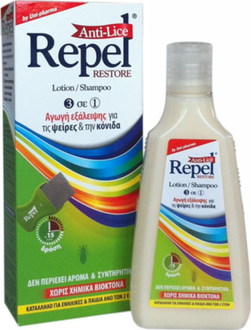 Uni-Pharma Repel Anti-lice Restore 200gr