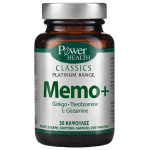 Memo+,Gingo – Theobromine – L-Glutamine,30cap